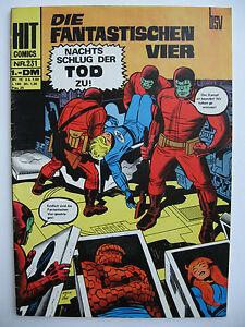 Hit-Comics-Nr-231-Die-fantastischen-Vier-BSV-Williams-Zustand-1-2-2
