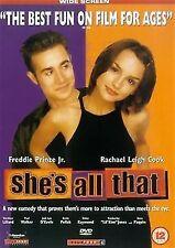 She's All That  Freddie Prinze Jr., Rachael Leigh Cook, Matthew NEW UK R2 DVD