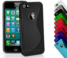 S-Line Silicone Bumper Case Cover for iPhone 5 5s