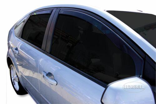 15226 Ford Focus II 4//5türig Liftback 2004-10 Heko Derivabrisas Oscuro 4tlg Kit