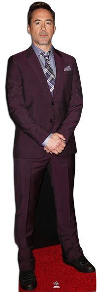 Robert Downey Jr.Lebensechte Größe Pappfigur Aufsteller Aufstell Schauspieler | Eleganter Stil  | Haltbarer Service