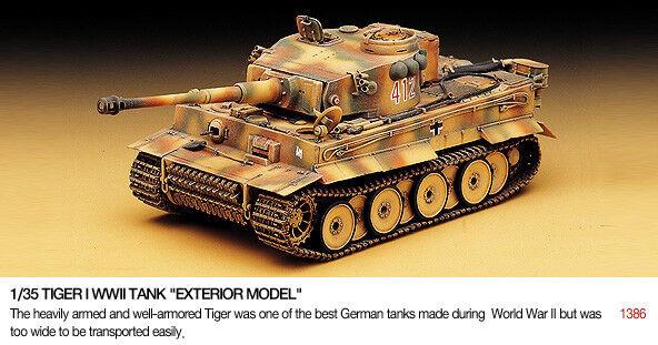 Hochschulen 13264 - alemania tanque pesado tiger 1 - 1   35 escala t48 envio