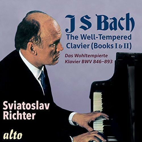 Bach / Sviatoslav Ri - Well-Tempered Clavier (Books I & II Complete) [New CD]