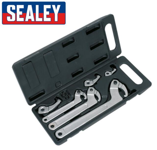 Sealey - Hws03 11 Piezas Gancho y Pin Moza Set - para Suspensión Ajuste Rings