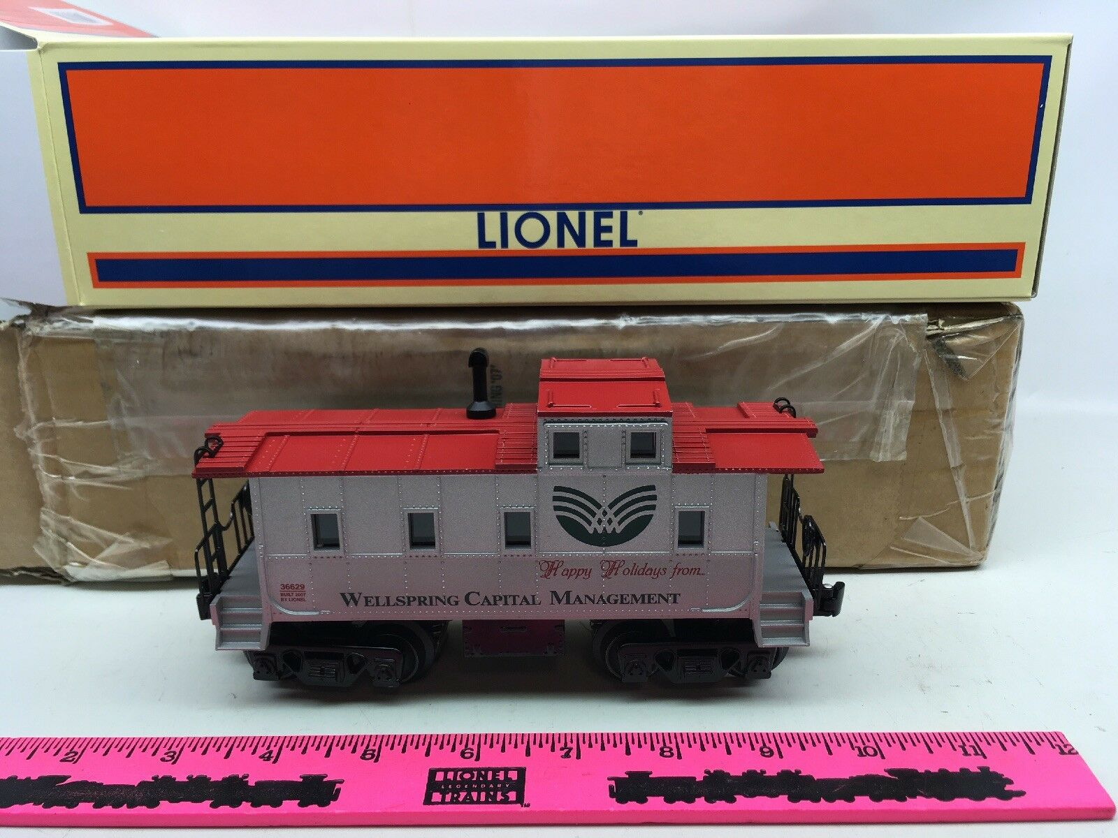 Lionel  6-36629 Wellspring Caboose 2007