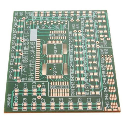 SMD Components Solder Practice Plate für Training DIY Modul Electronic Kit