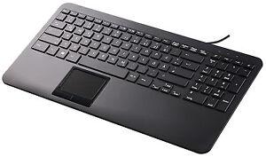 Perixx PERIBOARD-519H DE, USB Tastatur mit Touchpad - 2 Hubs ...