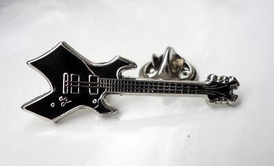 gothic  guitar pin badge rock metal