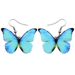 Acrylic-Blue-Menelaus-Butterfly-Earrings-Dangle-Hooks-For-Women-Fashion-Jewelry