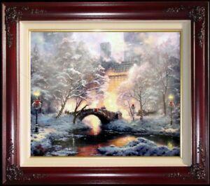 Thomas-Kinkade-New-York-Holiday-at-Central-Park-20x24-E-P-Christmas-Canvas
