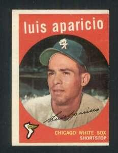 1959 Topps #310 Luis Aparicio EX/EX+ White Sox 122932