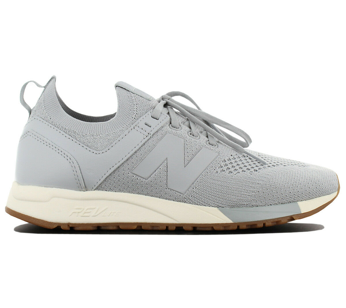 New Balance Lifestyle 247 MRL247DS Herren Turnschuhe Grau Schuhe REVlite Turnschuhe