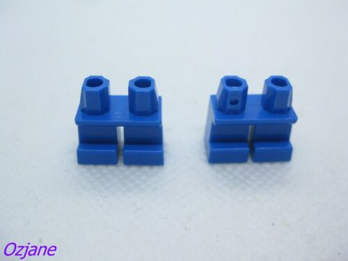 LEGO PART 41879 LEGS BLUE SHORT TOWN SUPER HEROES TOY STORY AVENGERS XMAS X2