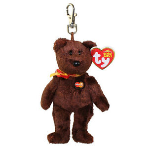 TY Beanie Baby - MC MASTERCARD Bear ( Metal Key Clip - Credit Card ... 9a03585869f8