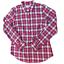 thumbnail 1 - Vineyard Vines Plaid Long Sleeve 1/2 Button Up Shirt, Women's Size 2, Pink/ Red