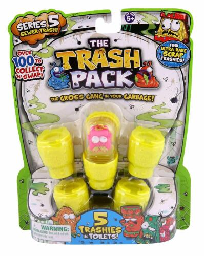 The Trash Pack Series 5 Sewer Trash figurine Aléatoire 5 Pack