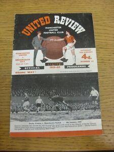 16-01-1960-Manchester-United-v-Birmingham-City-token-removed-folded-creased