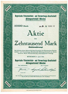 Bayerische-Fleischeinfuhr-und-Verwertungs-Ges-Muenchen-1923-10-000-Mark-unge