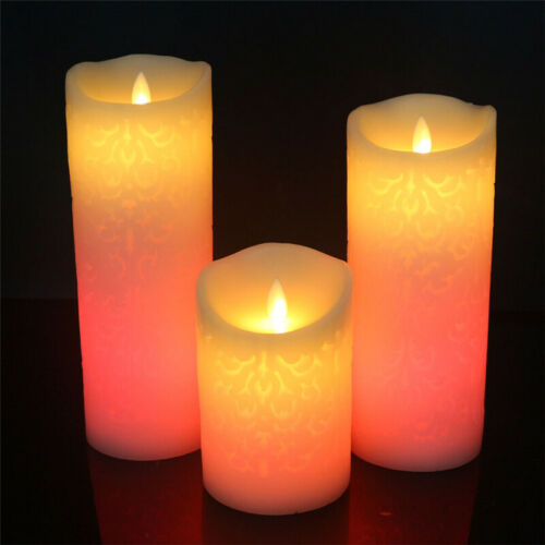 Christmas Decoration Lights Flameless Candle LED Night Light with Remote Control
