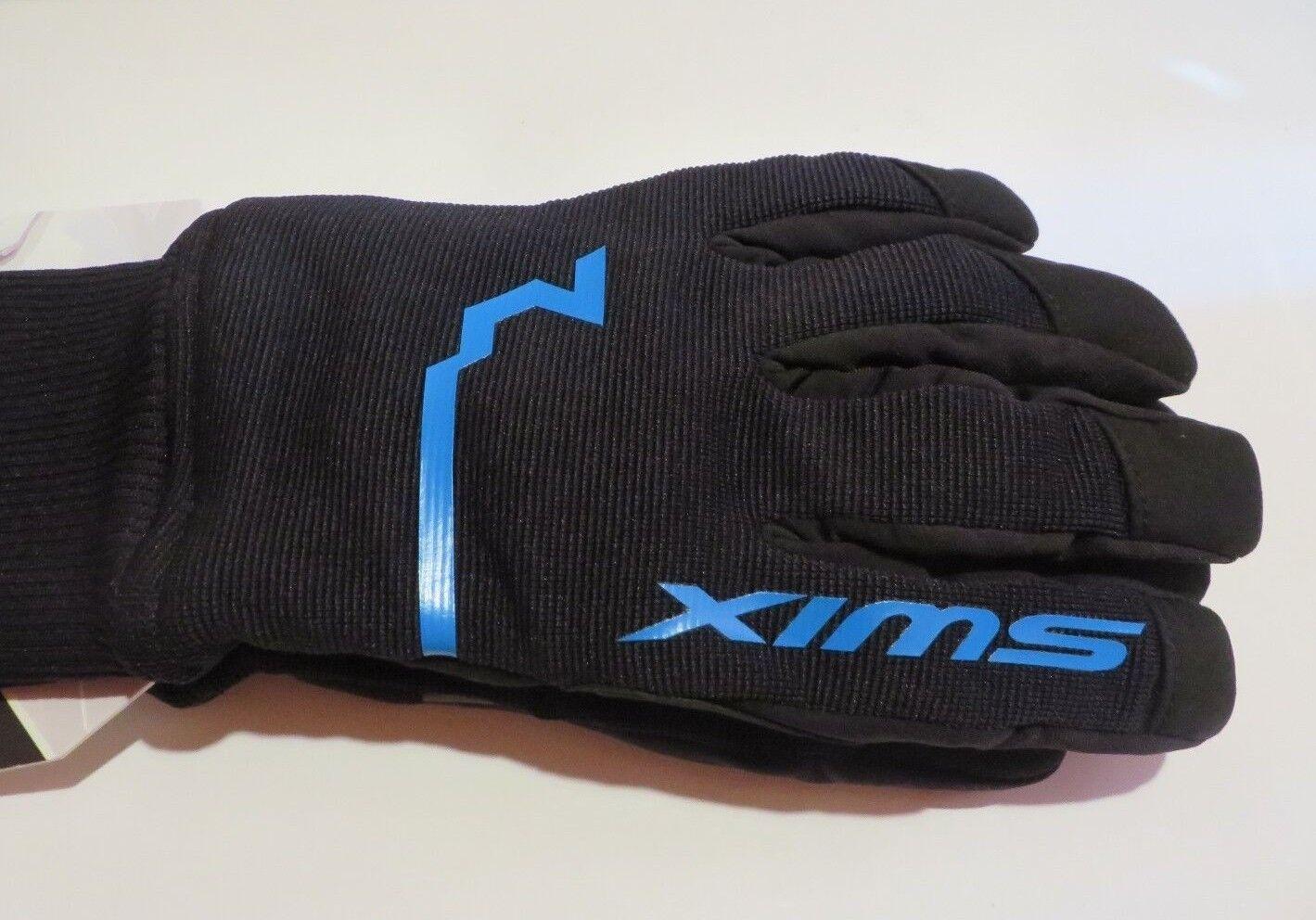 SWIX GeminiX Glove Mens Herren Handschuhe Handschuhe Handschuhe Schwarz mit blauem Detail Größe 9 L fa8fd1