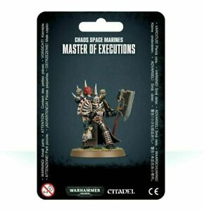 Master-of-Executions-Chaos-Space-Marines-Black-Legion-Warhammer-40K-NIB