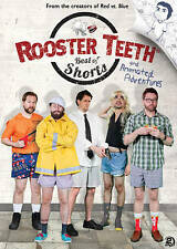Rooster Teeth: Best of Shorts and Animated Adventures(DVD, 2013, 2-Disc Set) NEW
