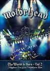 """The W""""rld Is Ours, Vol. 2: Anyplace Crazy as Anywhere Else by Mot""""rhead (DVD, Sep-2012, UDR)"""