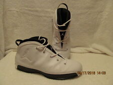 !NIKE AIR JORDAN 18.5! WHITE/BLACK W/ OG BOX/TOWEL! SIZE 13 FLAWLESS,RARE FIND!