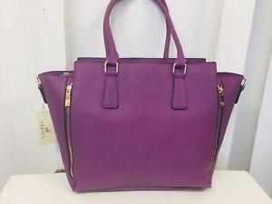 très couleur superbe Sac Tote récent violet sac chaude qualité à main fFFRpg