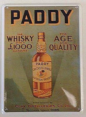Jack Daniels Whiskey Old Sour Mash mini metal sign// postcard 110mm x 80mm hi