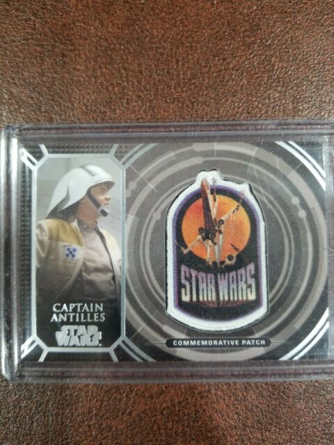 Star Wars 2017 40th Anniversary Topps Captain Antilles Patch PC-18