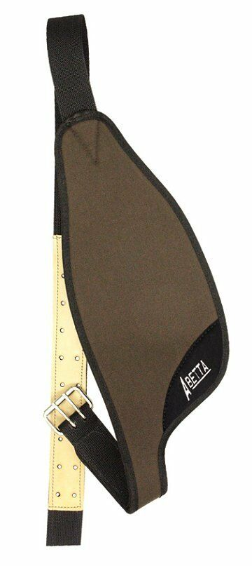 BROWN Abetta Nylon Replacement Saddle Fenders for 16  - 17  Saddles