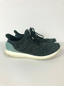 quality design dd514 784f3 Adidas Ultra Boost 4.0 Parley Carbon Blue Spirit CG3673 Size ...