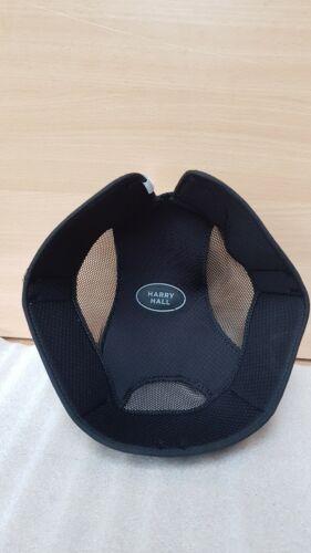 Nouveau Noir ** HARRY HALL ** remplacement Hat Liner Équitation Chapeau 6 3//4 55 cm pas015