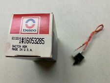 Vintage NOS Delco Radio Service Part 16053285 Power Switch