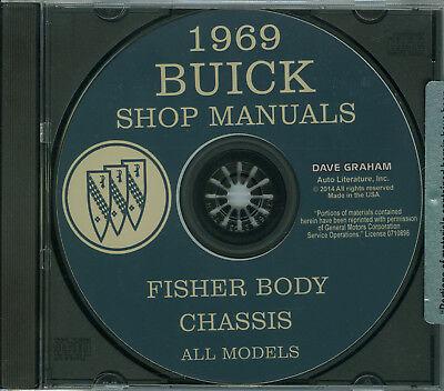 Car & Truck Repair Manuals & Literature Motors 1966 BUICK SKYLARK ...