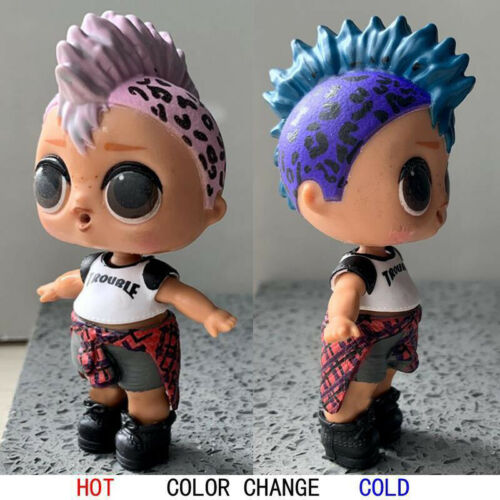 Ultra Rare LOL Surprise Doll Punk Boi Boy Confetti Pop toy Color change