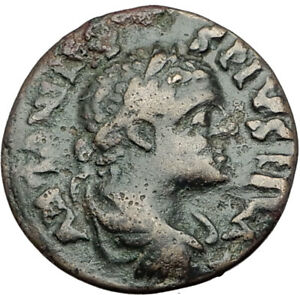 ELAGABALUS-218AD-Genuine-Parion-Parium-Mysia-Ancient-Roman-Coin-CAPRICORN-i65147