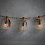thumbnail 7 - Set of 12 Mini Glass Bottles Perfect for Wedding Favours & Decoration M&W