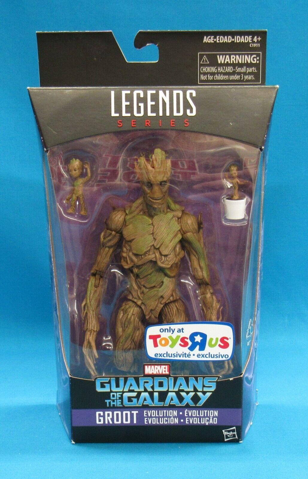 Marvel Legends Series Guardians of the Galaxy Groot TRU Exc 2016 Hasbro New