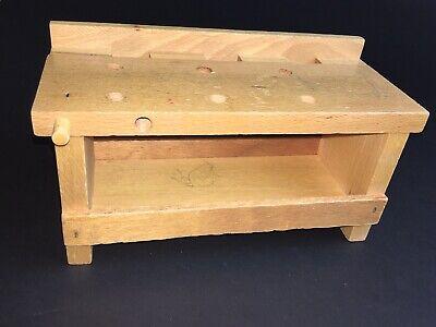 Kleine, alte Holz-Werkbank, vintage, gebraucht | eBay