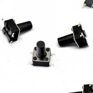 20PCS-6-6-12mm-Tact-Tactile-Push-Button-Switch-SMD-4Pin