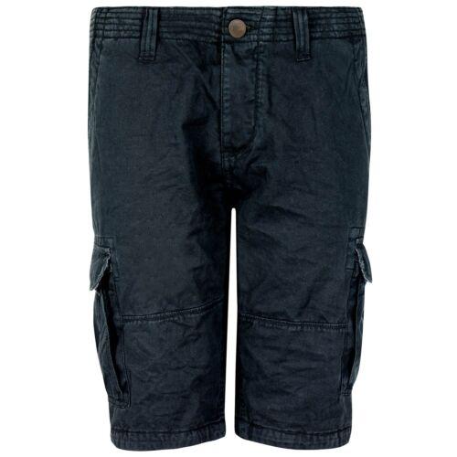Urban Surface robuste Herren Shorts mit 6 Taschen Streifen Print Kurze Hose