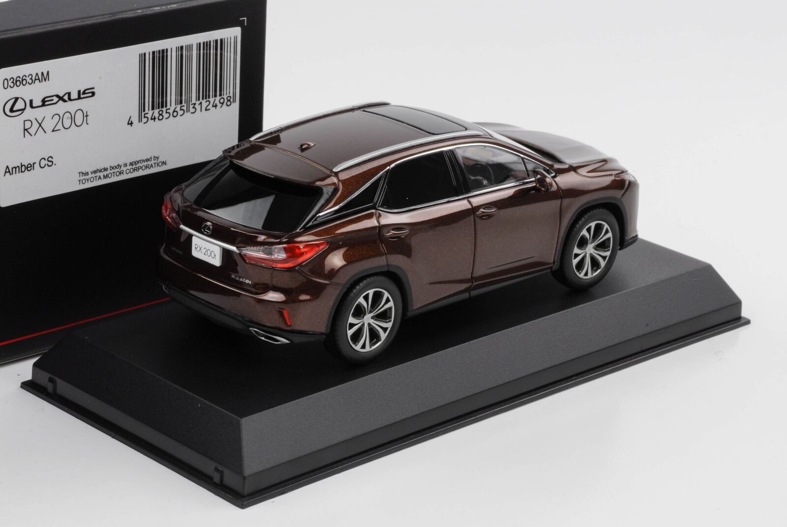 Lexus IS 350 F Sport red mica crystal shin 1:43 Kyosho diecast