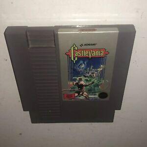 TESTED-5-Screw-Round-Seal-Nintendo-NES-Game-Original-CASTLEVANIA-Authentic-Works