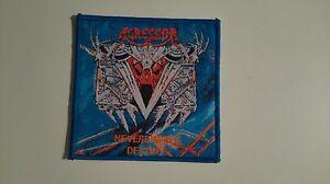 Agressor-Neverending-Destiny-music-thrash-metal-Sew-On-patch