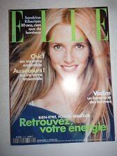 Magazine mode fashion ELLE French #2825 21 février 2000 Sandrine Kiberlain