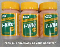Rugby I-vite W/ Lutein Vitamin (compare To Ocuvite ) 60 Tablets ( 3 Pack )
