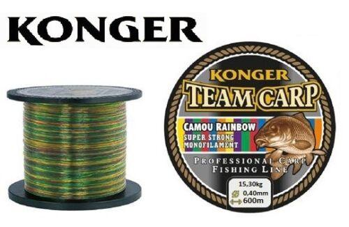 Fishing Line Carp Konger Team Carp Camou Rainbow 1000m Monofilament 0,011 €// M