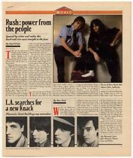 Rush Interview/article 1981 RS-XCNM